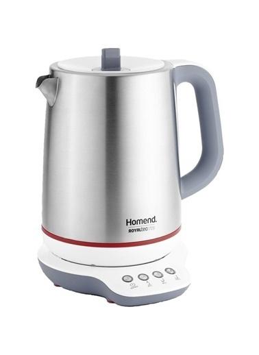 Homend 1709 Royaltea Konuşan Çay Makinesi Gümüş